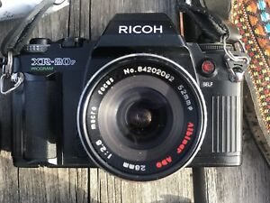 RICOH XR-20sp SLR camera with accessories