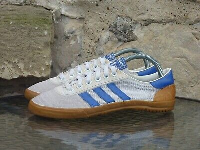 Vintage 1982 Adidas Volleyball UK 6 Made In Philippines White 70s 80s Rare OG