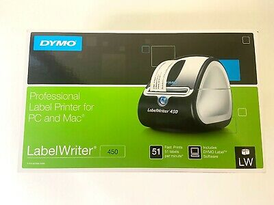 Dymo Labelwriter 450 Thermal Label Printer New In Box