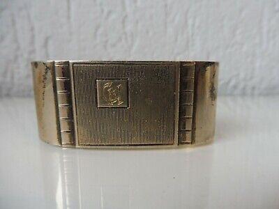 Beautiful, Vintage Napkin Ring ___ 800 Silver__