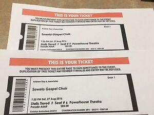 Soweto Gospel choir concert tickets Brisbane Hawthorne Brisbane South East Preview