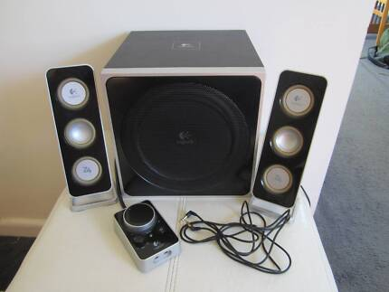 Logitech Z4 Speakers Lidcombe Auburn Area Preview