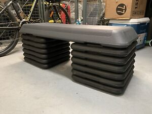 Aerobics Exercise Step With 12 Risers Treadmill Factory Brand