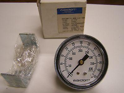 Ashcroft 25w1001th 2-12 Pressure Gauge 0-60 Psi Panel Mount 14 Npt New