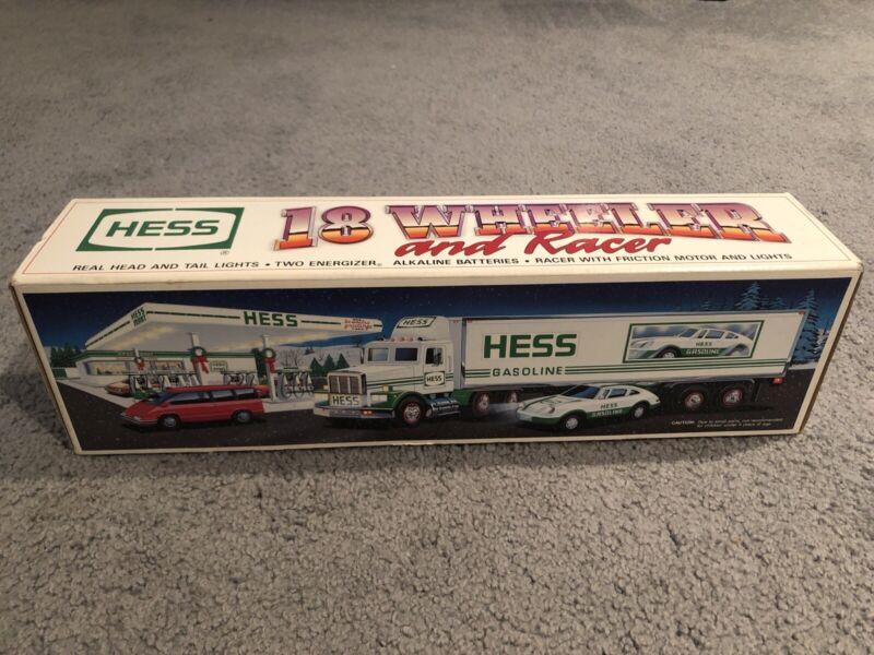 1992 Hess Gasoline 18 Wheeler and Racer BRAND NEW