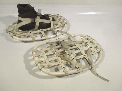 British Army Vintage Snowshoes Arctic Grips Mountaineering Expedition Military