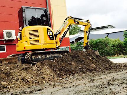 Cat 304e excavator 2012