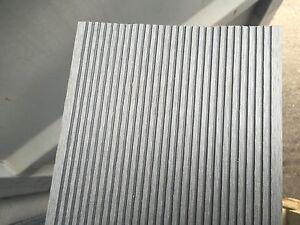 Wood plastic composite decking board light grey for Non slip composite decking