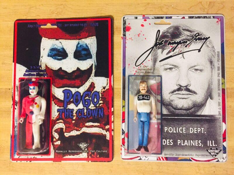 Pogo Clown John Wayne Gavy Bundle Deal Set Custom Handmade Murderbelia True Crim