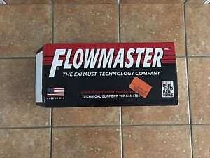 """Flowmaster Catalytic Convertor 2.25"""" in/out BRAND NEW"""