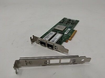 DELL QLOGIC 2 PORT 10GB CONVERGED NETWORK ADAPTER QLE8152 42F2X LB/SB segunda mano  Embacar hacia Argentina