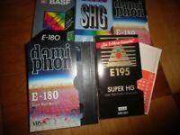 5 Stk. VHS KASSETTEN Sachsen - Schmölln Vorschau