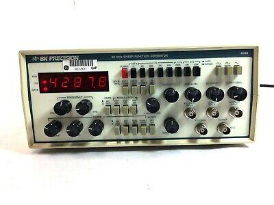 Bk Precision 4040 20 Mhz Function Sweep Generator 6833