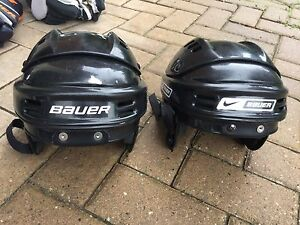 Used youth small hockey helmets