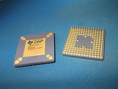 Tms320c30gbl Ti Dsp Gold Cpu Pga Vintage Orig Pkg New Tms320c30 Collectible