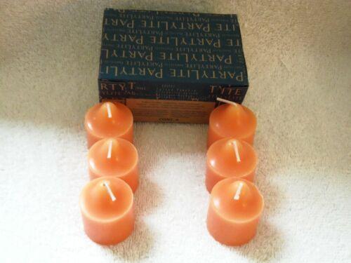 Partylite Spiced Pumpkin Votives -- RETIRED