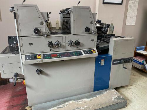 RYOBI 3302 Press w/powder unit / Diamond Damp / Recent roller replace / extras