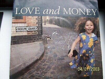 LOVE AND MONEY, JOCELYN SQUARE / SAINT HENRY. ORIGINAL 1989 FONTANA SINGLE