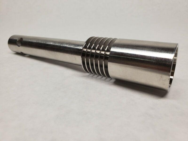 Mr. Shorty Foundry/Forge Propane Burner, Pure 304 SS. LP 160,000 BTU. Jet Torch