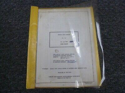 Clark Austin Western 88l 88fw Power Grader Parts Catalog Manual Book Pub 417