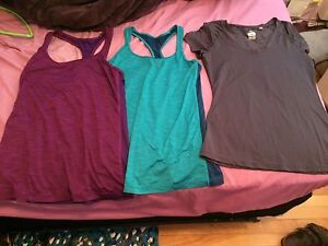 Size small athletic shirts