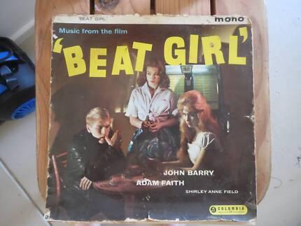 Beat Girl. Original LP of ohn Barry's soundtrack of the film.