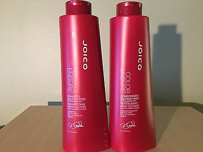 Joico Color Endure Sulfate Free Shampoo and Conditioner 33.8 oz/Liter Duo