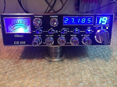 Galaxy 959,Cb Radio,BLUE SWITCHS , Big finals, Super tuned ,Turbo Echo,New CB