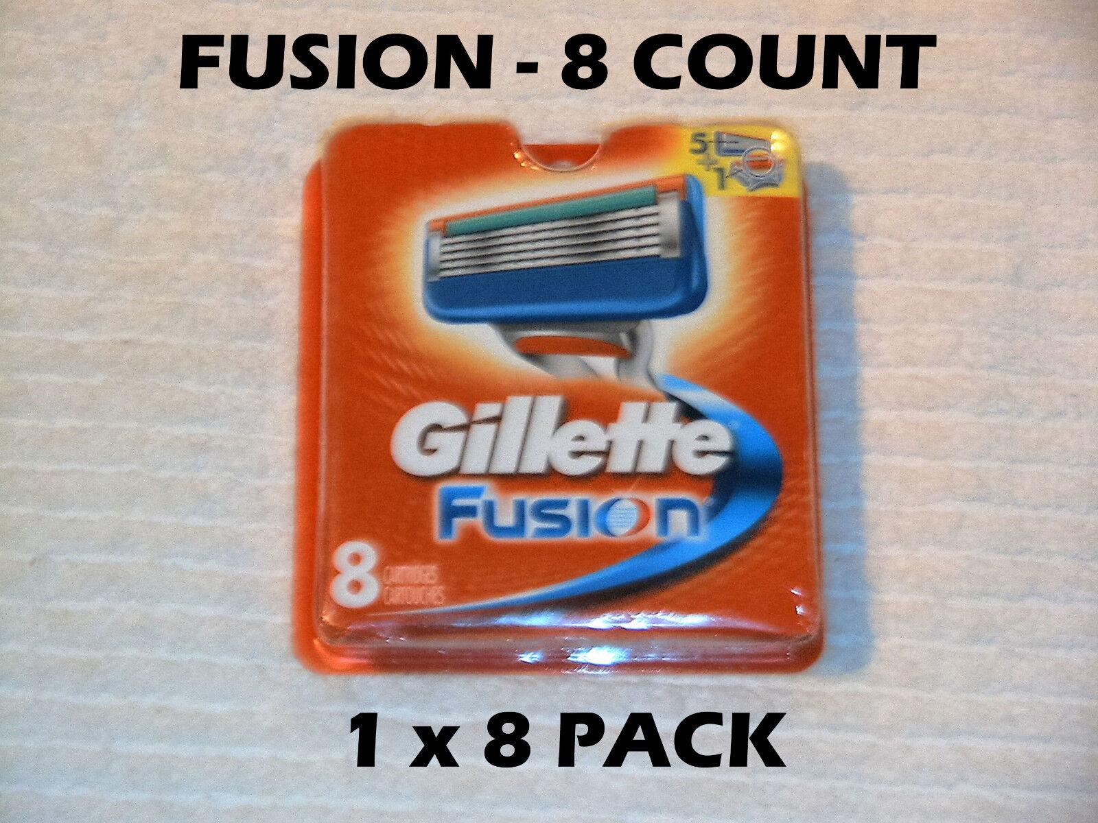 Gillette Fusion - 8 Count (1 X 8 Packs)
