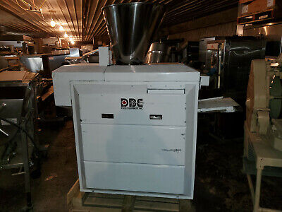 Dbe Food Equipment Bakery Volumetric Dough Divider W Suction Scaling Chamber