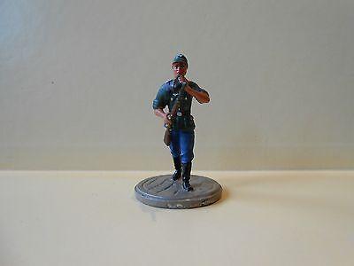 Zinnsoldat Zinnfigur WK2 3.Reich Deutsche Wehrmacht Soldat mit Gewehr.