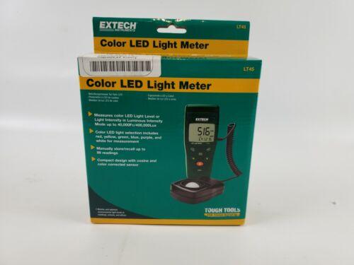 Extech LT45 LED Light Meter - Extech LT45-NIST - New