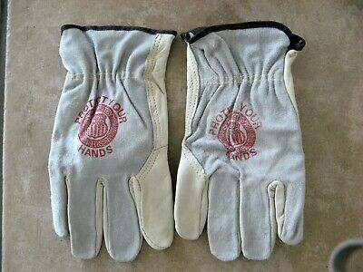 UNION PACIFIC LEATHER GLOVES  (NEW) -