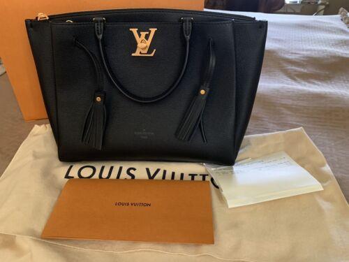 Louis Vuitton Lockmeto Noir Bag New