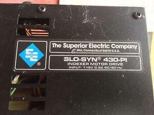 Superior Electric Stepper Motor and Controller