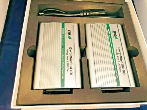 EMS ENERGYMIZER HM 100 Energy Saver & EMF Filter Power Conditioner 2 units NEW