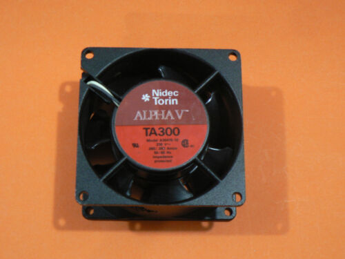 2 PC NIDEC TORIN ALPHA V TA300 A30475-10 230VAC 0.06/0.052A 50/60Hz IMP-PRO FAN