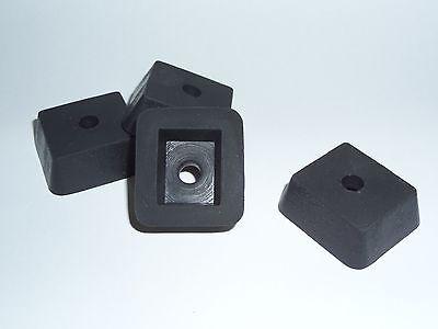 Typewriter Repair - Replacement Rubber Feet for Royal 10 & Noiseless Typewriters