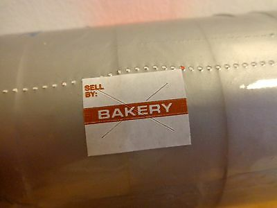 Garvey Price Labels 2216 9000 Bakery White 1 Sleeve For Gun 22-66 22-77 22-88