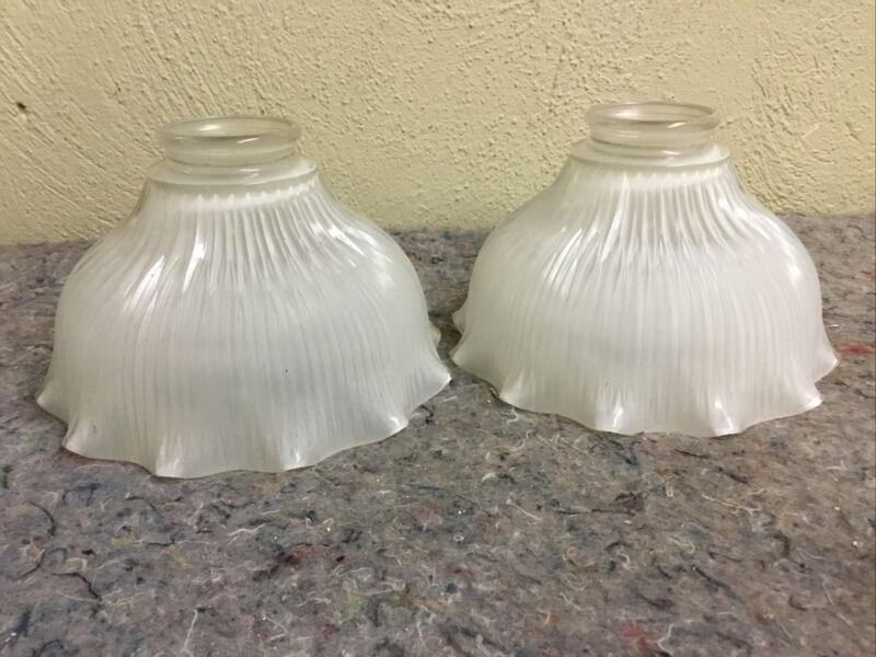 Pair Of Opaque Globes