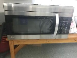 LG (over the range) microwave