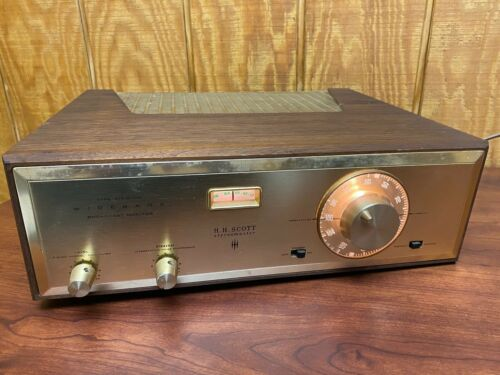 H.H. Scott Type 310D Wideband FM Broadcast Monitor Tube Tuner *VINTAGE*