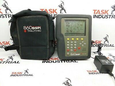 Trilithic 860dsp Cable Tester - Needs New Battery