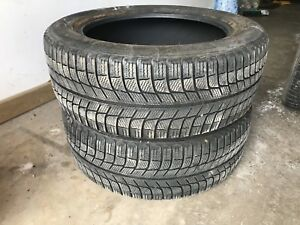 2 - 215/55R17 Michelin X-ICE Winter Tires