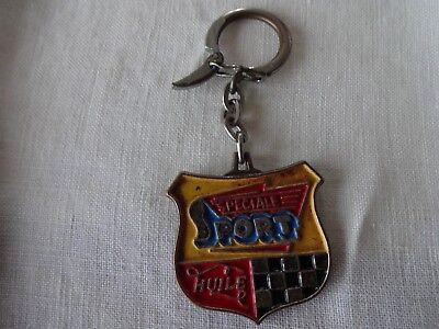 porte clés  métallique SPECIAL SPORT - HUILE