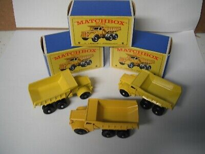 Matchbox Lesney Regular Wheels #6-C Euclid Dumper- boxed