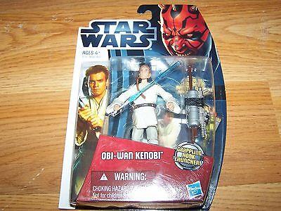 Star Wars Obi Wan Kenobi Action Figure Crappling Hook Launcher Battle Card Die