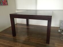 Stained Hardwood Dining Table Centennial Park Eastern Suburbs Preview