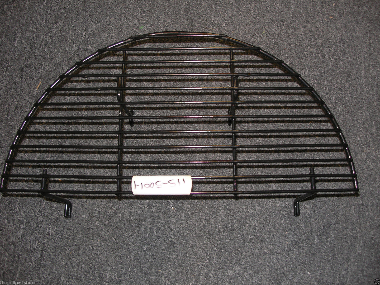 Brinkmann Raised Haft Round Coated Warming Rack Charcoal Smo