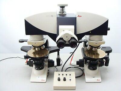 Leica Forensics Comparison Microscope Set W Dm2500 Fs-cb Bridge More